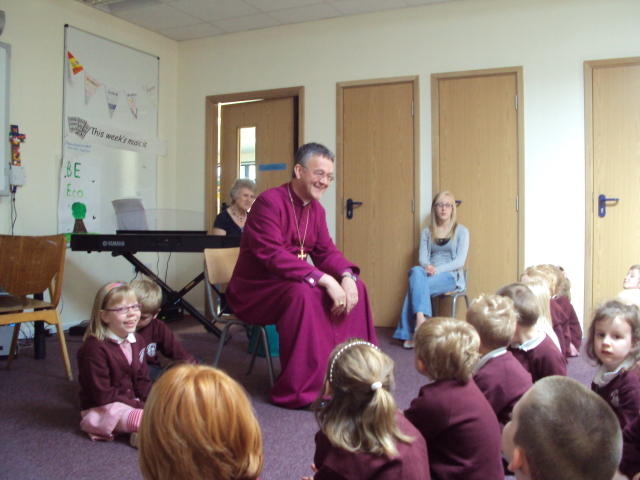 bishop visit to schools for vision pages
