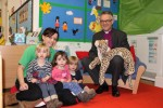 Bishop John with the Little Gems playgroup