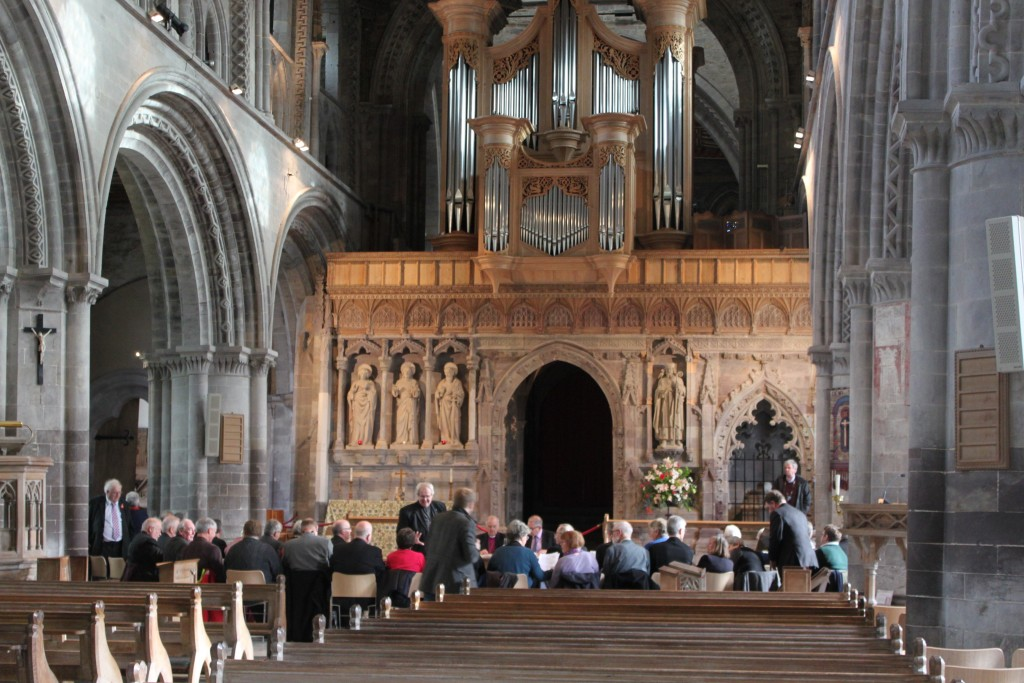 Electoral college, St Davids Cathedal