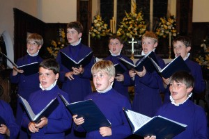 Choristers from Canterbury Cathedral visited St Anne's Church in 2009 as part of the Music in the Community scheme