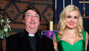Katherine Jenkins with Canon Stephen Ryan web