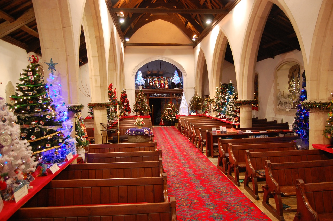 Colourful Christmas Tree Festivals The Diocese Of Llandaff